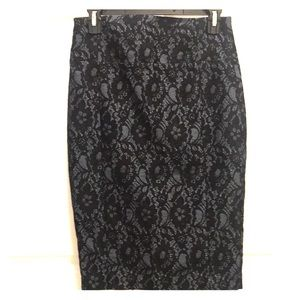 BUNDLE! EXPRESS DEMIN AND LACE SKIRT